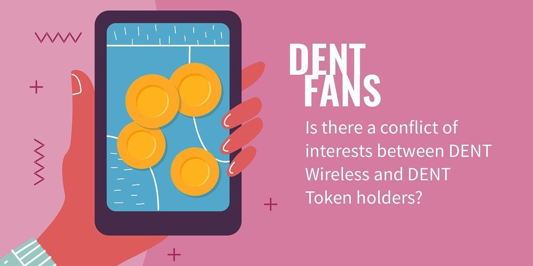 Conflict of interests DENT Wireless vs DENT Token holders