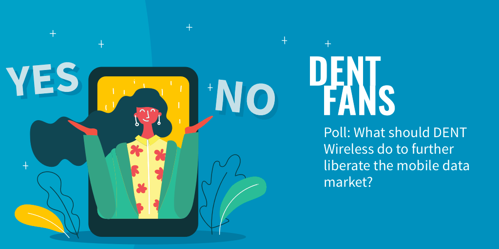 What should DENT Wireless do to further liberate the mobile data market